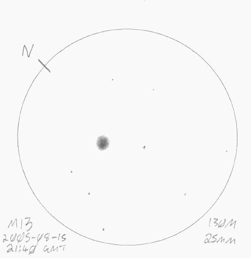 Sketch of M13