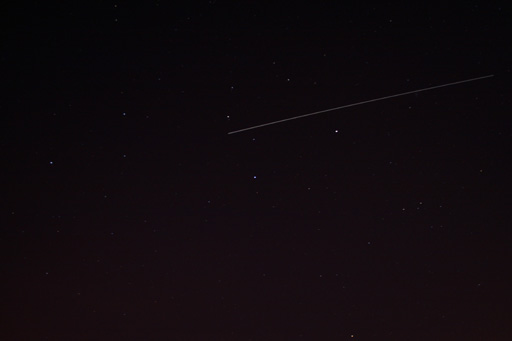 Leo, Saturn and the ISS