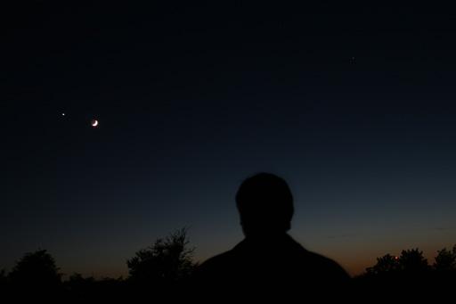Venus, the Moon and Me