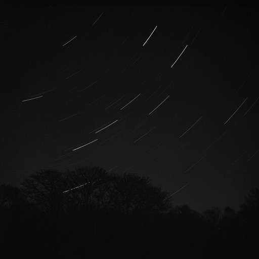Ursa Major Star Trail