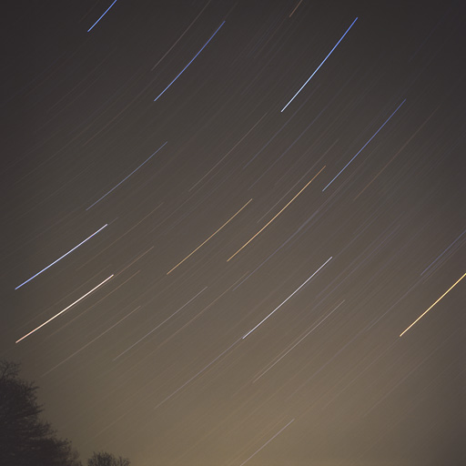 Gemini Star Trail